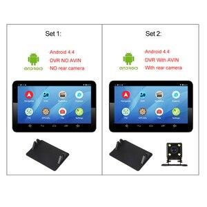 Image 5 - Anfilite H55 7 inch Capacitive Android car GPS Navigator Quad Core 16GB car DVR dash cam dual cameras 1080P record free maps