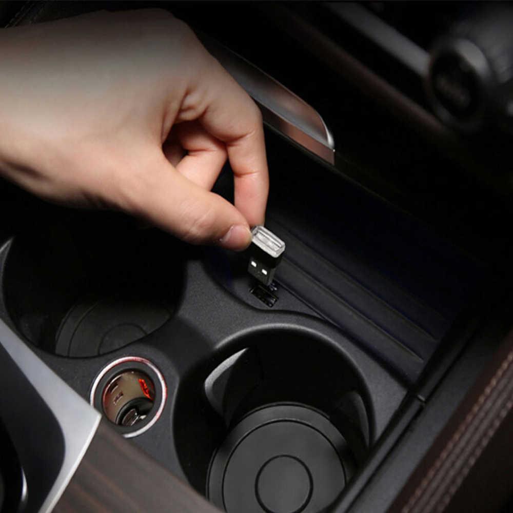 USB Lampu Hias LED Lampu untuk Mazda 3 Kursi Ibiza Honda Civic 2006-2011 Kursi Leon Toyota Corolla 2008 Ford Focus 3