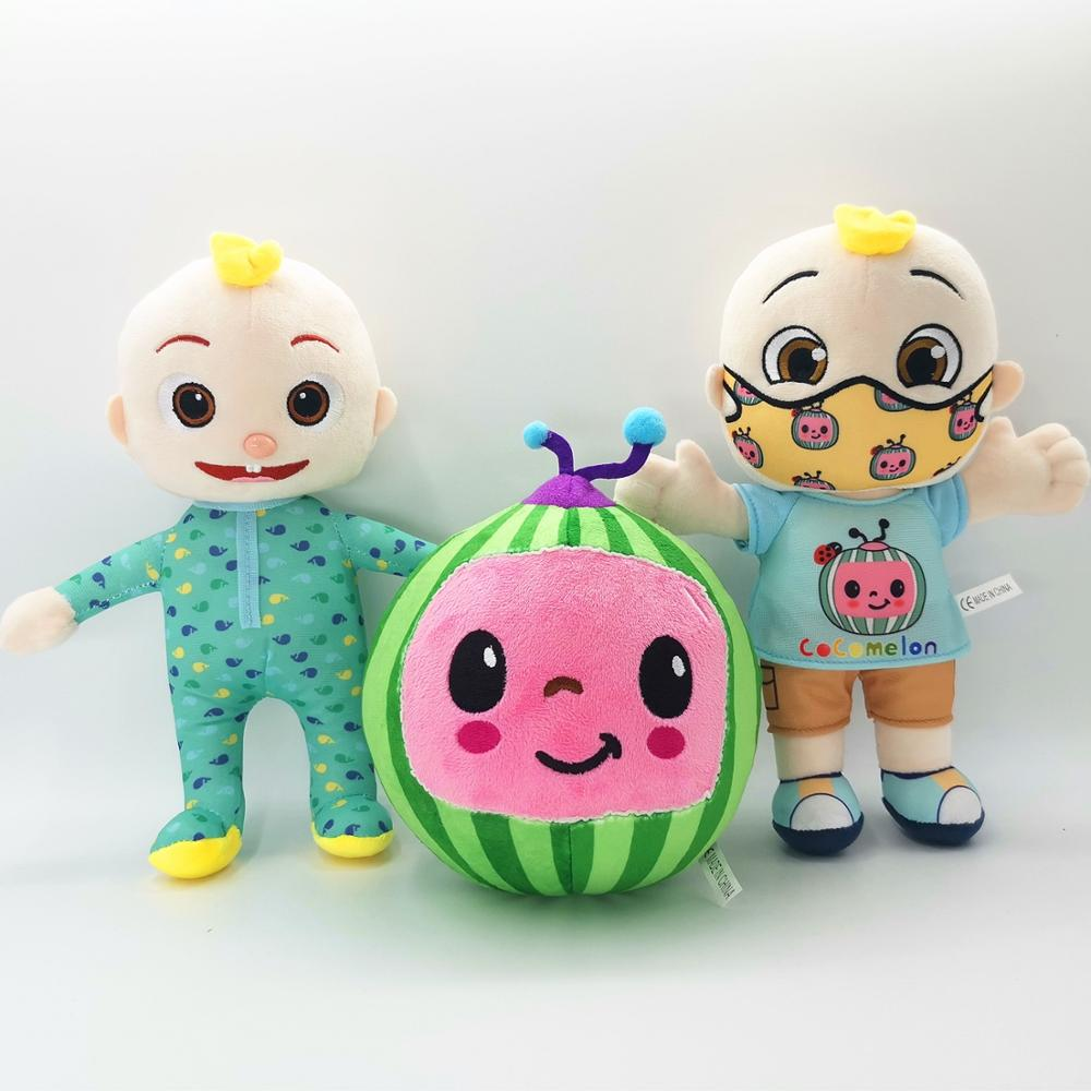 BIG JJ Music Plush Doll Cocomelon Pillow Soft Toys for Baby Plush JJ Doll Educational Stuffed Sing Toys Cute Kids Gift 3