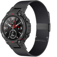 Correa de Metal para reloj inteligente Xiaomi Huami Amazfit T Rex Pro, pulsera deportiva de acero inoxidable