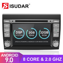 Isudar 2 Din Auto Radio Android 9 Per Fiat/Bravo 2007 2008 2009 2010 2011 2012 Car Multimedia DVD GPS Octa Core ROM 32G USB DVR(China)