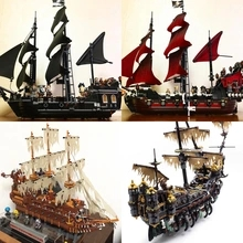Lepinblocks 16002 16005 16006 16008 16009 16042 16060 22001 Movie Series Pirates Of Caribbean Toys Legoed Building Kits Blocks