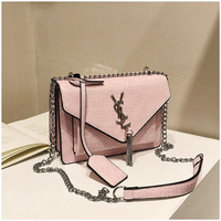 Women Fashion Luxury Brand Handbag Ladies Messenger Bag Designer lady High Quality Chain crocodile pattern leather Shoulder Bag