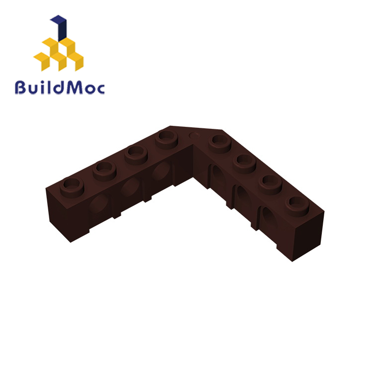 BuildMOC 32555 Technic Brick 5 X 5 Right Angle For Building Blocks Parts DIY Educational Creative Gift Toys