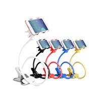 Универсальное железо для мобильного телефона, прикроватный держатель для мобильного телефона, вращающийся на 360 градусов, металлический держатель для мобильного телефона