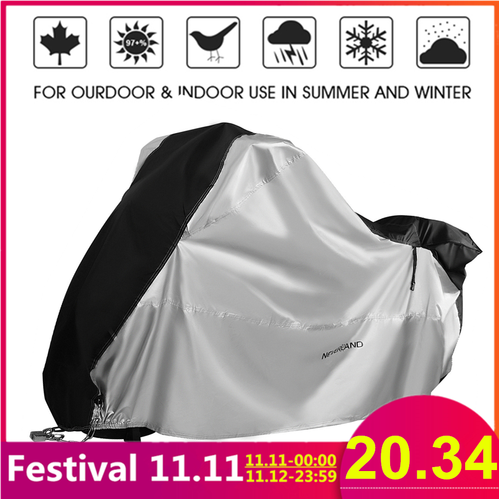 210D Motorcycle Moto Cover Snow Rain Coat UV Protective Bike Scooter Covers Protector For Trunk Bracket Universal Motorcycles D4-in Car Covers from Automobiles & Motorcycles