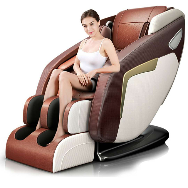 Электрическое Кресло для массажа всего тела, 3d Шиацу, новейшая фиксация SL дорожка, низкая цена, Корея, Индия, Япония