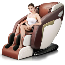 Korea India Japan Latest Fix SL Track Power Supply Price 3d Foot Shiatsu Cheap Electric 4d Zero Gravity Full Body Massage Chair