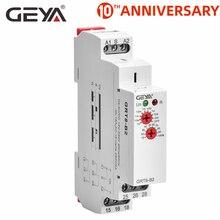 Livraison gratuite GEYA GRT8 B temporisation relais électronique Type 16A AC230V ou AC/DC12 240V