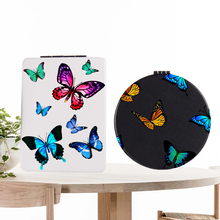 Cute Mirror Pocket Magnifying Cosmetic Makeup Compact Folding Travel Double-Side Portable