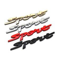 Pegatinas deportivas de estilo para coche, accesorios para Suzuki Swift Grand Vitara SX4 Vitara Jimmy para Fiat 500 Punto Stilo Bravo, 1 unidad