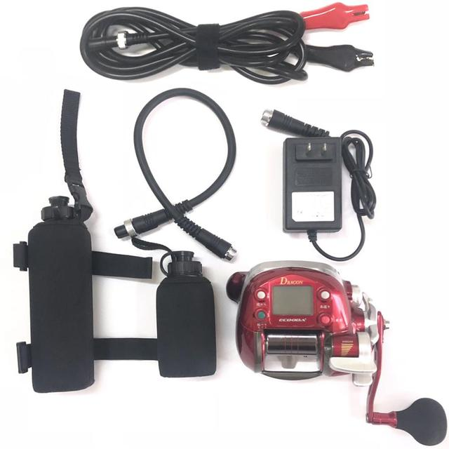 Best 100% Original Electric Fishing Reel Saltwater Trolling Fishing Reels cb5feb1b7314637725a2e7: alone 3400 battery|alone 6800 battery|Only reel no battery|reel - 1pcs 3400mah|reel - 2pc 3400mah|reel - 3400-6800mah