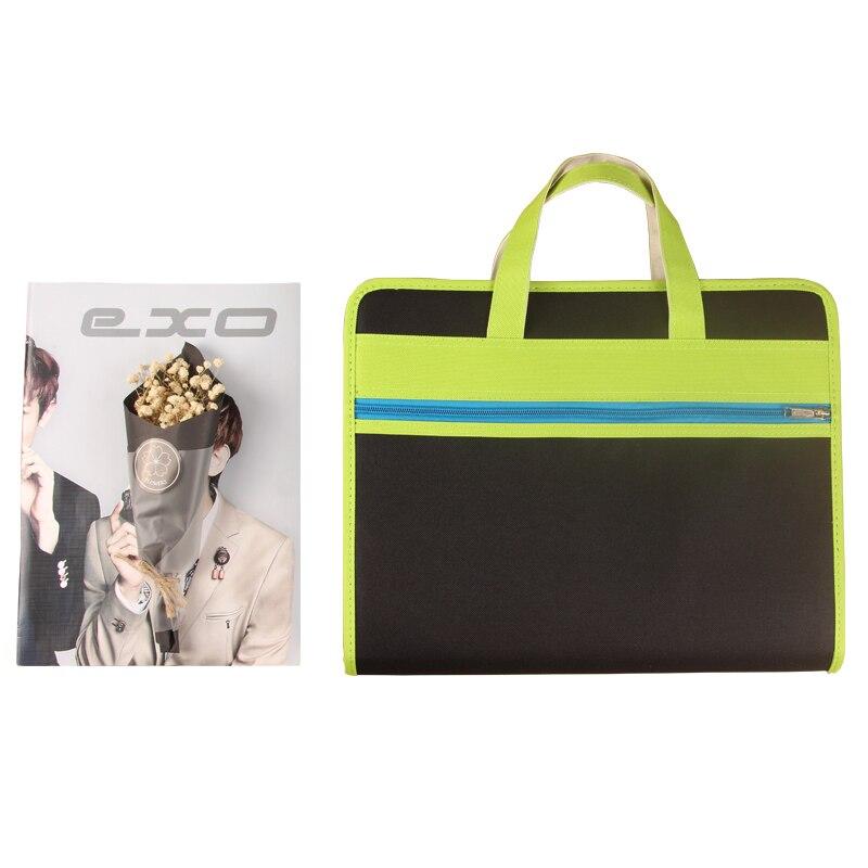 13 Layers Creative Organ Bag Multi Folder Oxford Cloth A4 Portable Zipper Information Briefcase Paper Bag Business Supplies