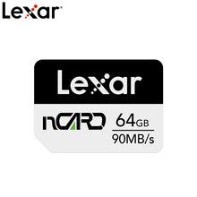 Оригинальная нано-карта памяти Lexar nCard 64 Гб 128 ГБ 256 ГБ, высокоскоростная флеш-карта памяти для телефона, макс. 90 фотосессия, карта для Huawei P30 Mate ...