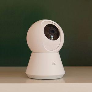Image 2 - Умная Молодежная камера Xiaomi Mijia chuang mi, веб камера 1080P, Wi Fi, наклон в двух плоскостях, ночное видение, угол обзора 360 градусов, видеосъемка Baby Monit