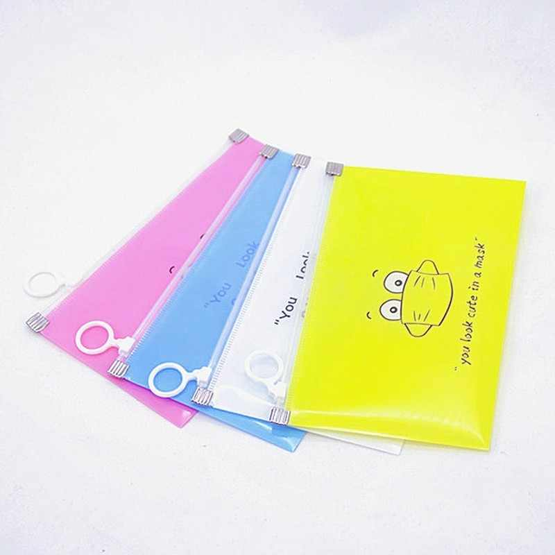8PCS Face Mask Storage Bag Package Case Portable Organizer Waterproof Keep Clean