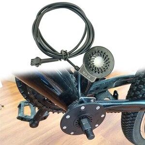KT-V12 Praktische Geschwindigkeit Dual Halle Elektrische Fahrrad Magnet 12 Signale PAS System Komponenten Pedal Unterstützen Sensor Zubehör Langlebig