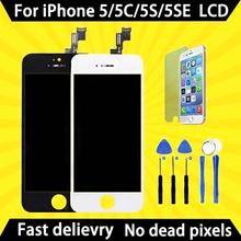 ЖК дисплей класса aaa без битых пикселей для iphone 5 5s 5c