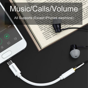 Image 4 - SAMZHE Type C to 3.5 Jack Earphone Cable USB C to 3.5mm AUX Headphones Adapter For Huawei mate 10 P20 pro Xiaomi Mi 6 8 Nubia