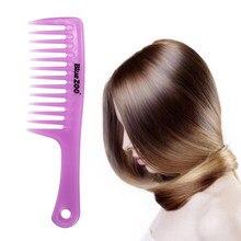 Escova de cabelo mágica única, escova de cabelo anti-estática, tangular, massageador de banho, sem estática, novo, 2019 salão de beleza para cachos