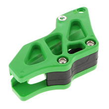 Green Chain Guide Guard Slider For Kawasaki KXF250 KXF450 Dirt Bike Moto(China)