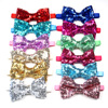 30pcs Christmas Pet Dog Grooming Products Pet Bowties Neckties  Shining Pet Dog Cat Wedding Accessories New Year Pet Bow Tie