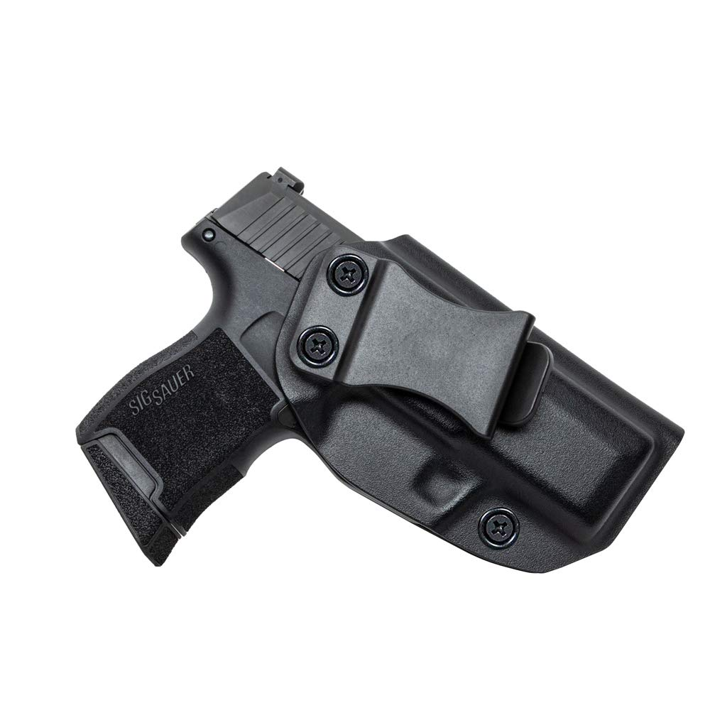 Sig Sauer P365 KYDEX Holster, IWB KYDEX Fit Sig Sauer P365, Inside Waistband Concealed Carry Kydex Holsters- Adjustable Cant- Ri