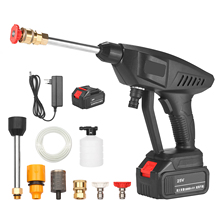 Gun Washer Foam-Generator High-Pressure Cordless with Nozzle Water-Pump Auto-Garden-Sprayer