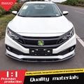 Для Honda Civic Body kit спойлер 2019-2020 Honda Civic SCK ABS задний спойлер передний бампер диффузор защитные бамперы