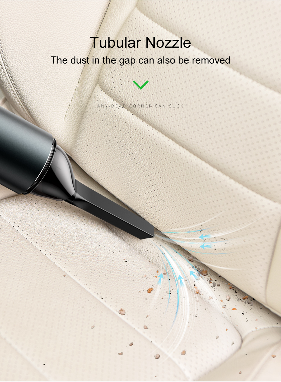 Беспроводной ручной автомобильный пылесос мини портативный беспроводной пылесос двойного назначения USB Перезаряжаемый аспиратор для автомобиля дома