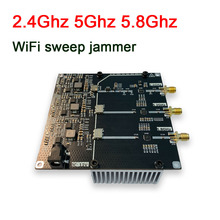 2.4G 5G 5.8G frequency WiFi swept jammer Shielder 2.4Ghz 5Ghz 5.8Ghz WiFi signal Shielded RF amplifier F Bluetooth interference