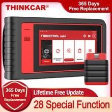 Thinkcar thinktool mini obd2 scanner profissional completo sistema de diagnóstico scanner carro scanner automático ecu codificação teste ativo