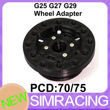For logitech G25 G27 G29 G923 Wheel Adapter simracing pcd 70/75 sim racing
