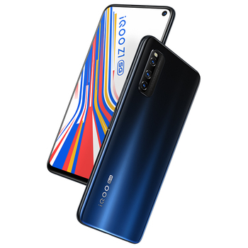 Vivo iQOO Z1 5G 8GB 128GB MediaTek 1000 Plus Telephone 44W 4500mAh 48.0MP KPL NFC Cellular 144Hz Refresh Rate Mobile Phone Electronics Mobile Phones