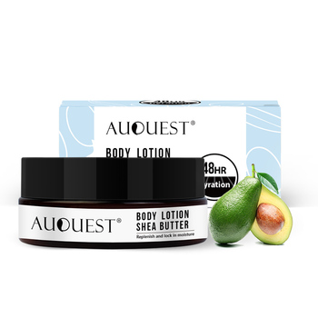 AuQuest Shea Butter Body Lotion Strong Whitening Moisturizing Soften Organic Skin Body Lotion Skin Care natural moisturizing body lotion