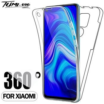 360 противоударный чехол для Xiaomi Mi Note 10 9 8 Pro CC9 CC9E для Redmi Note 5 5A 6 6A 7 7A 8 8A 8T 9S 9A 9 Pro Max K20 K30 крышка