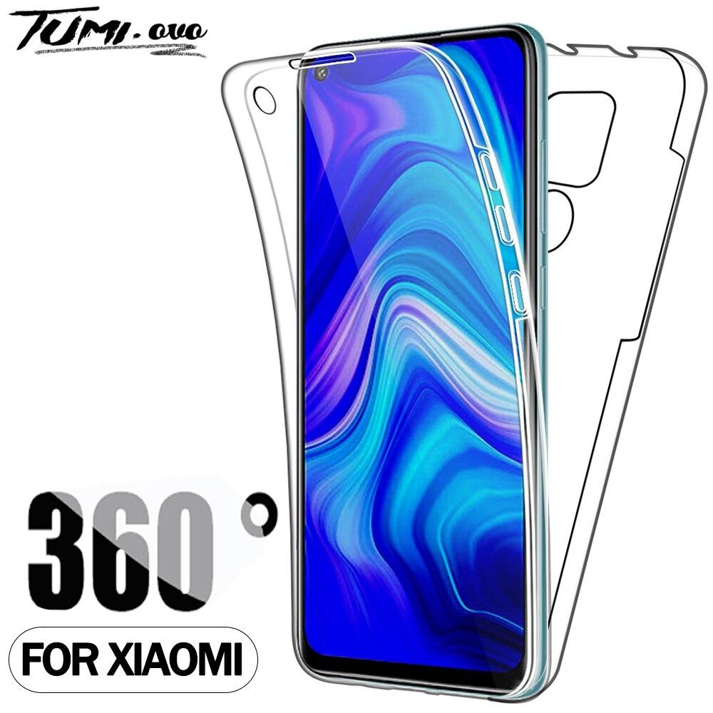 360 à prova de choque Case Para Xiaomi Mi Nota 10 9 8 Pro CC9 CC9E Para Redmi Nota 5 5A 6 6A 7 7A 8 8A 8T 9S 9A 9 Pro Max K20 K30 Capa