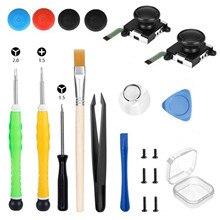 Bevigac 21PCS 3D Analog Gamepad Joystick Controller Replacement Repair Tools Kit for Nintendo Nintend Switch NS Joy Con Gadgets