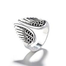 Классическое регулируемое кольцо в форме ангельских крыльев