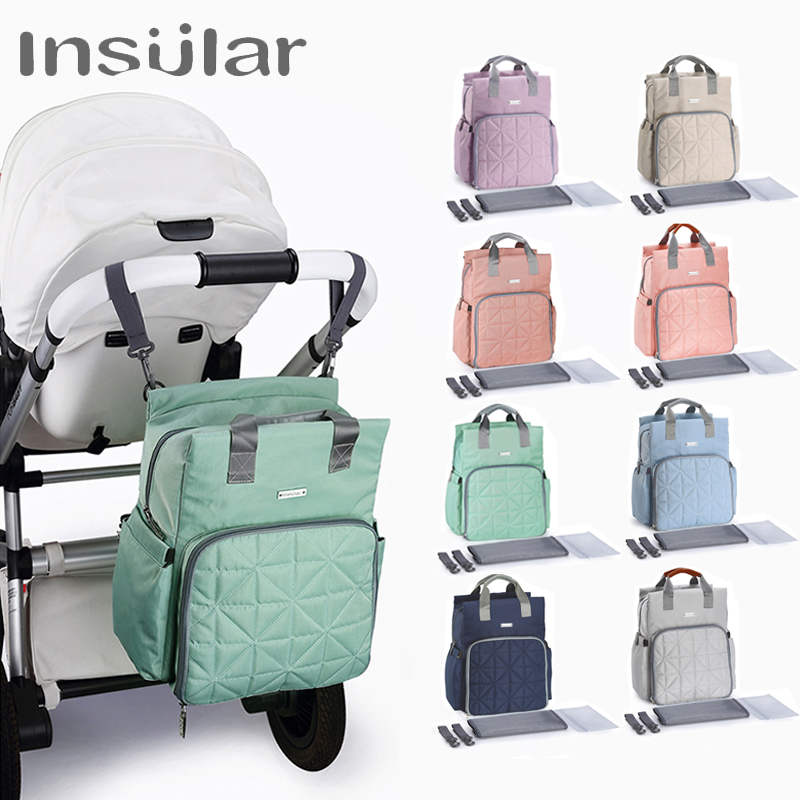 Mommy Nursing Bags Travel Backpack Designer Stroller Baby Diaper Bag Baby Care Mummy Maternity Nappy Bag Baby Stroller Bag