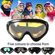 Новинка UV400 лыжи очки защита сноуборд очки противотуманный большой лыжи маска очки снег снегоход мужчина женщины катание на лыжах открытый спорт