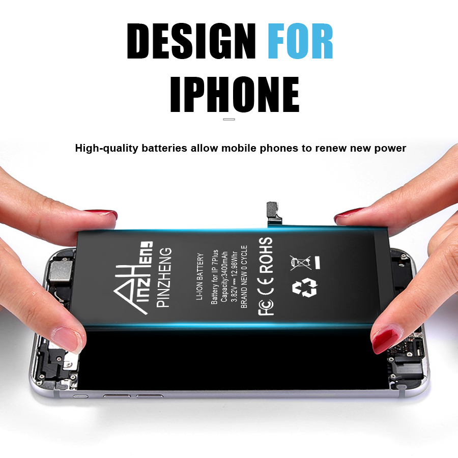 0 Cycle Replacement Li Polymer Battery For iPhone X 10 High Capacity Bateria For iPhone X With Free Tools Kit 3