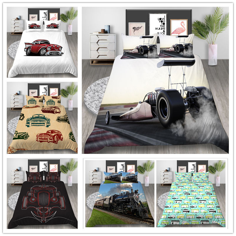 Mordern Fashion Bedding Set For Boys Adult Bed Cover Suit Twin Full Queen Size Comfortable Of Bedclothes 2019 New Design