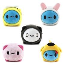 20PCS/Lot Bugcat Capoo Cosplay Blue Cute Cat Toy Stuffed Animals Plush Cartoon Doll Mini Capoo Keychain Bag Pendants