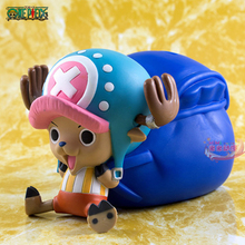 One Piece Lovely Tony Tony Chopper Cute Doll Japanese Anime Japan Puppets PVC Model Piggy Bank Action & Toy Figures