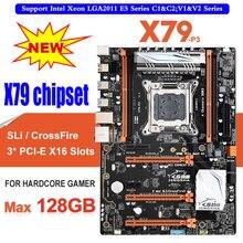 X79-P3 QUAD Channel Deluxe X79 motherboard ATX USB3.0 SATA3.0 LGA 2011