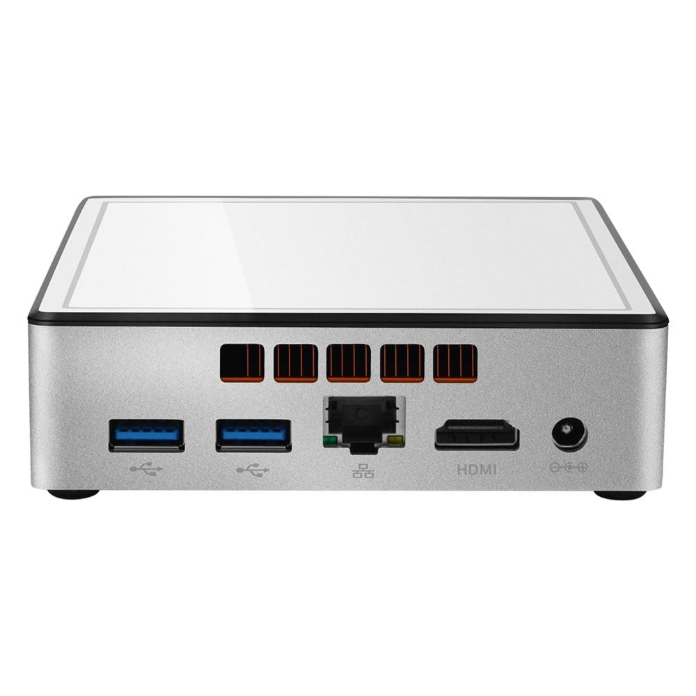 XCY Mini Pc Intel I3 4010y I5 4200y Windows 10 Linux Ddr3l Wifi Ultra Compact Desktop Computer Box Minipc Micro Tv Box Pocket