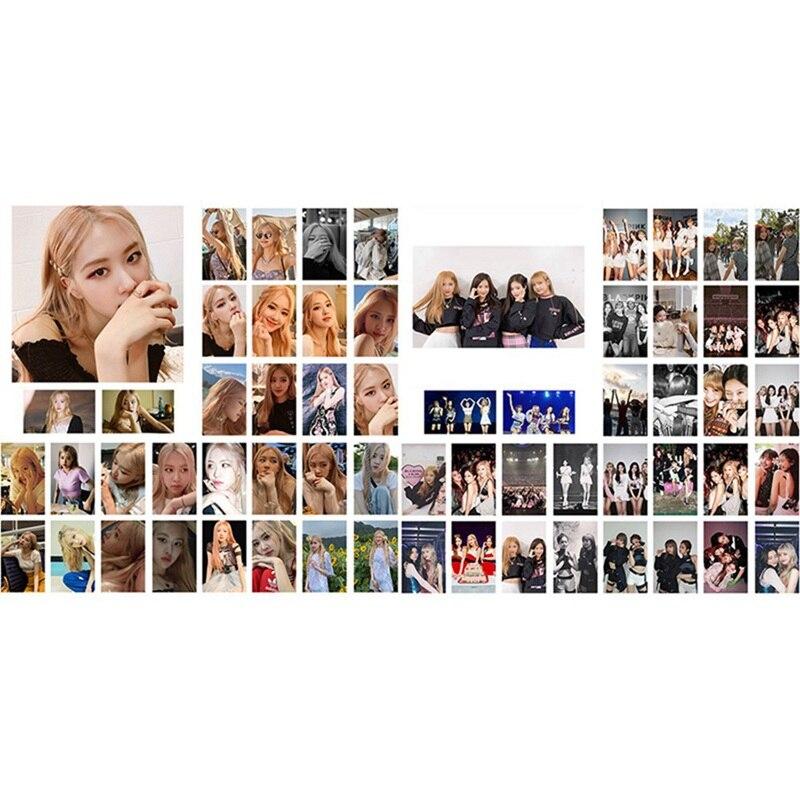 30Pcs/set Korean KPOP BLACKPINK Girls Around The Concert 2019 New Album Photo Card PVC Cards Self Made LOMO Card Photocard