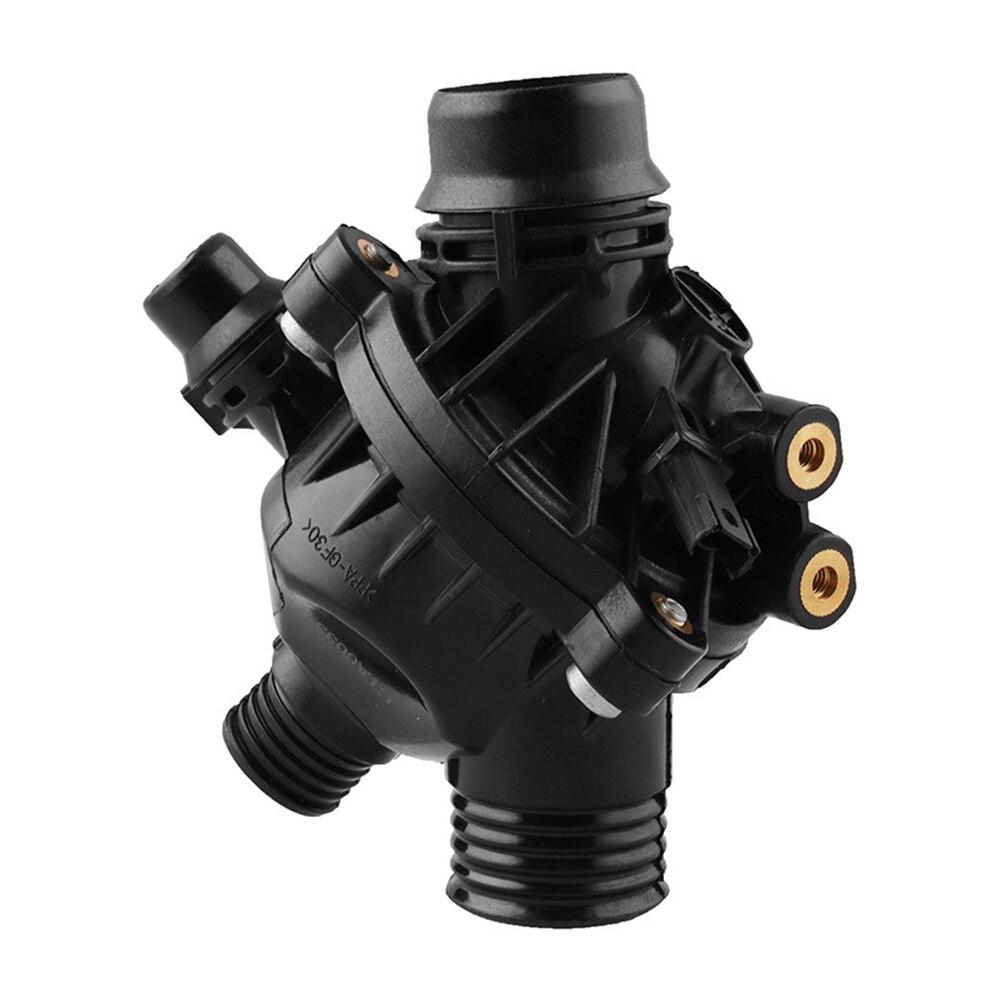 11537549476 Anti Corrosion remplacement Thermostat pratique voiture facile installer noir professionnel en plastique pour E90 330 E60 530
