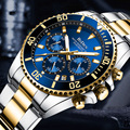 Mode Rolexable Herren Uhren Top Brand Luxus Wasserdichte Uhr Edelstahl Mann Quarzuhr Sport Chronograph Armbanduhr-in Quarz-Uhren aus Uhren bei